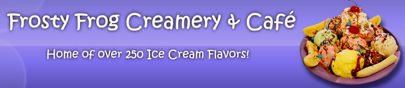 Over 250 fabulous ice cream flavors!
