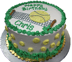 Order your birthday cake from the Frosty Frog Creamery today.