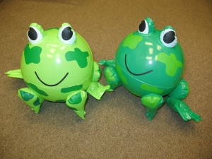 Frog Beach Ball - very rare!
