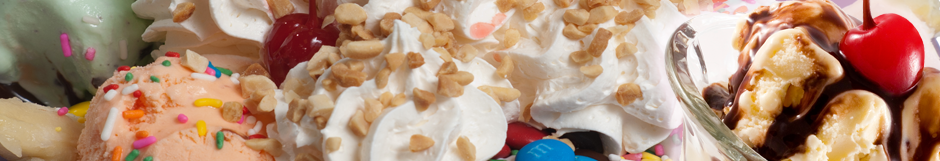 Try Our Ice Cream Sundaes
